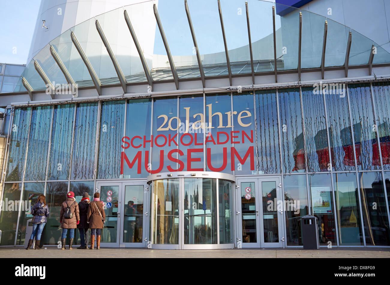 Schokoladen Chocolate Museum Cologne Stock Photo 67799993