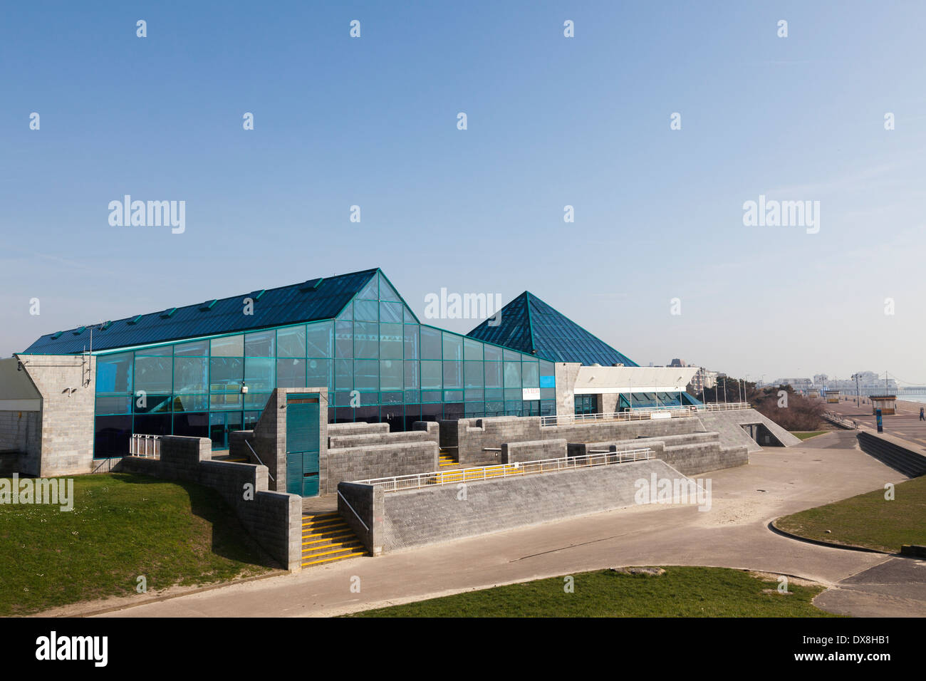Exterior on The Pyramids Centre, Southsea. - Stock Image