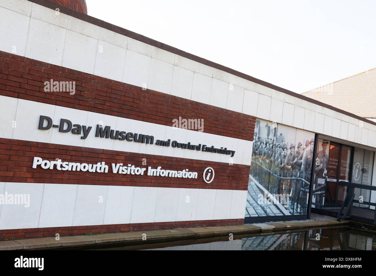 Exterior of the D-Day museum in Southsea. - Stock Image