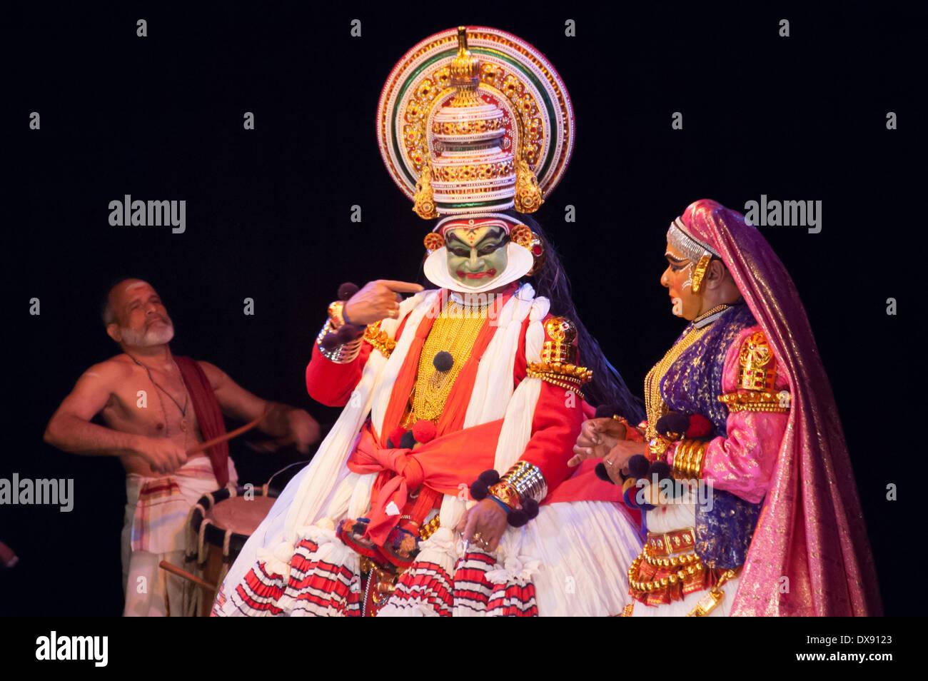 Kathakali Dance Stock Photos & Kathakali Dance Stock Images