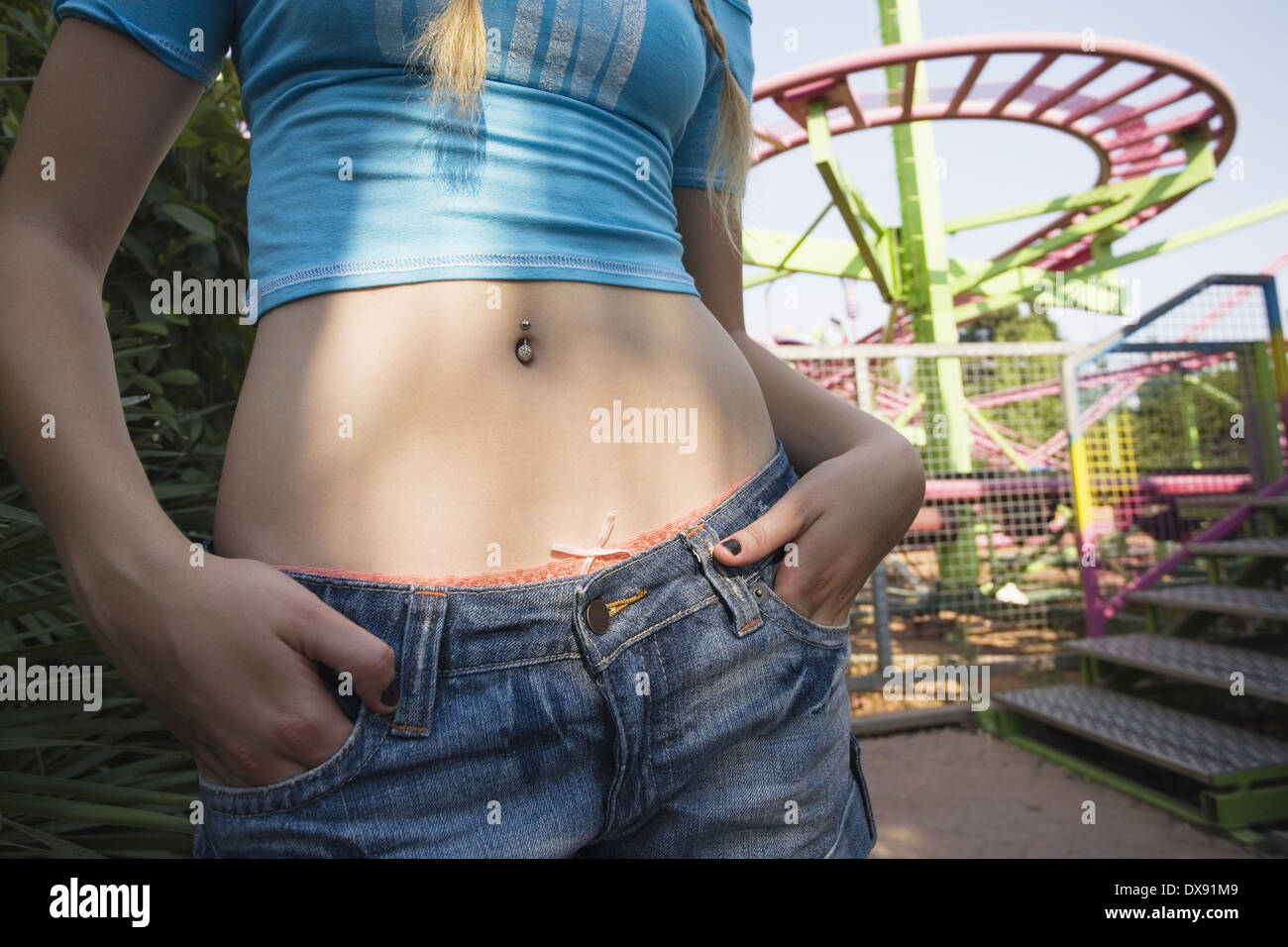 Teen navel stomach picture confirm. join