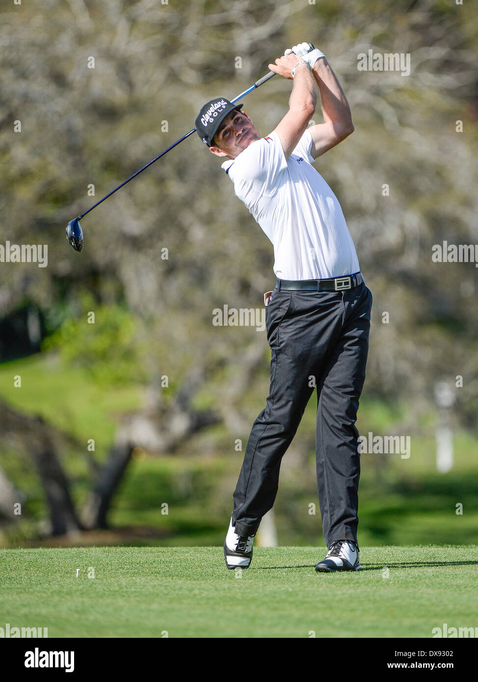 20th Mar, 2014. Keegan Bradley on #16 tee during first round golf action of the Arnold Palmer Invitational presented by Mastercard held at Arnold Palmer's ...
