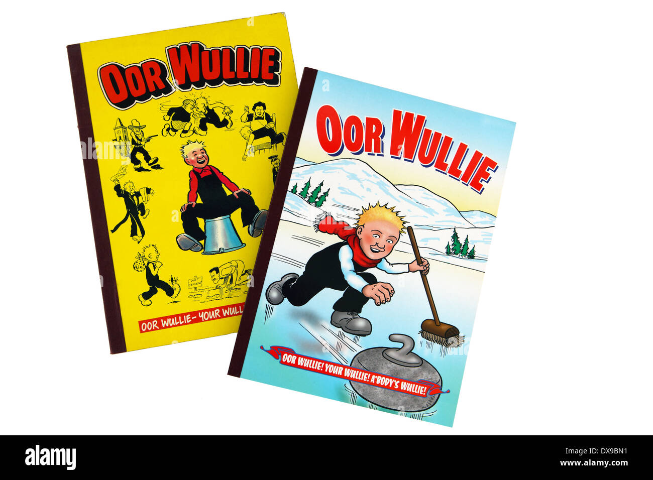 Oor Wullie annuals - Stock Image