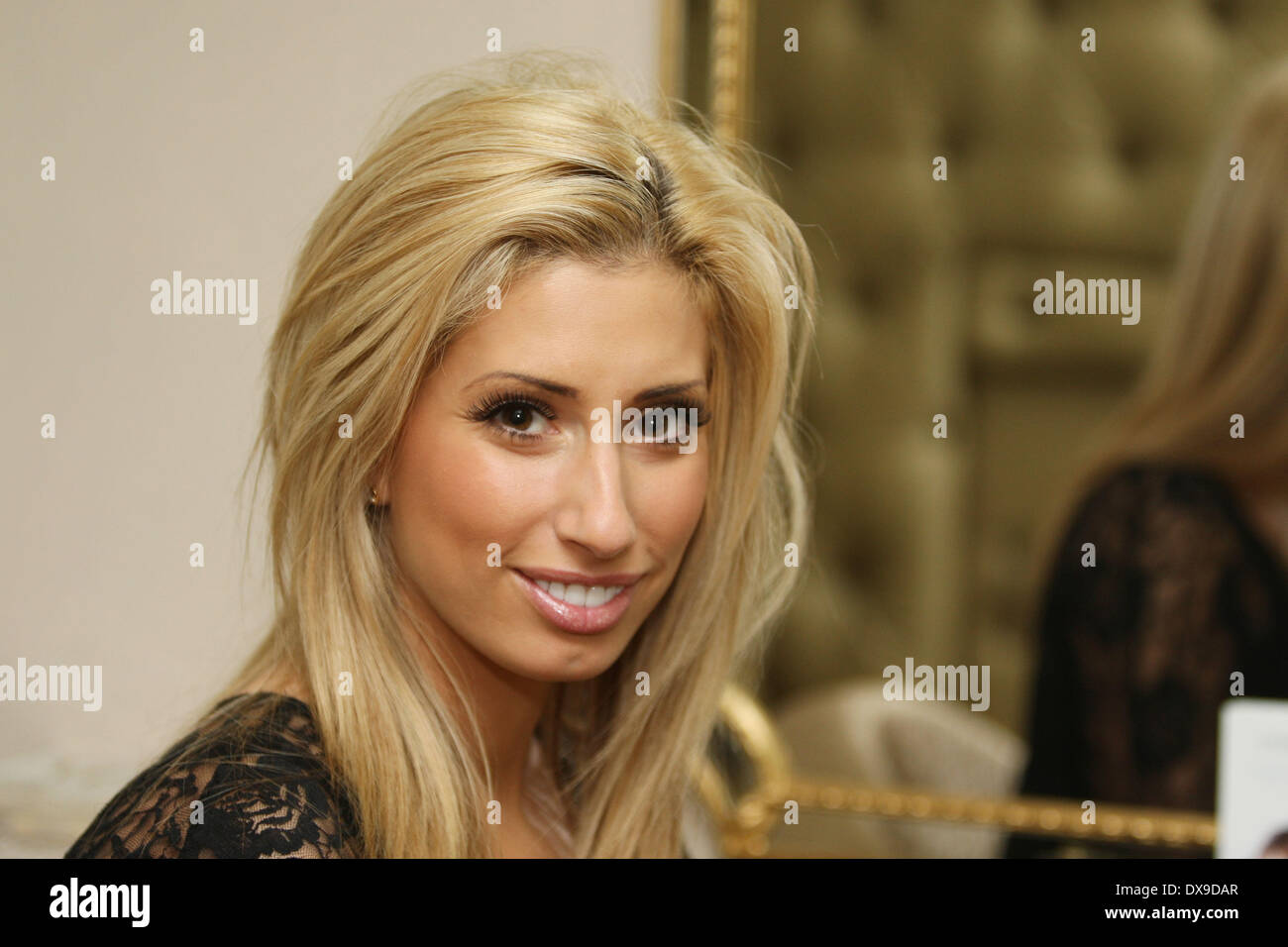 Stacey Solomon At Tatiana Hair Extensions Salon In London London