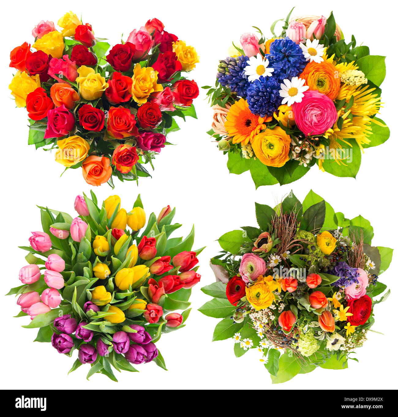 Flower Bouquets For Birthday Valentines Day Mothers Day Easter