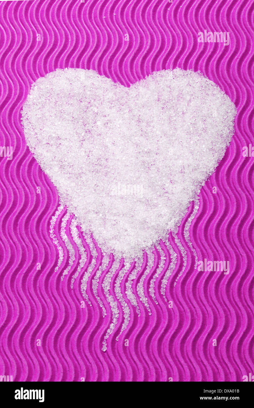 sugar's Heart - Stock Image