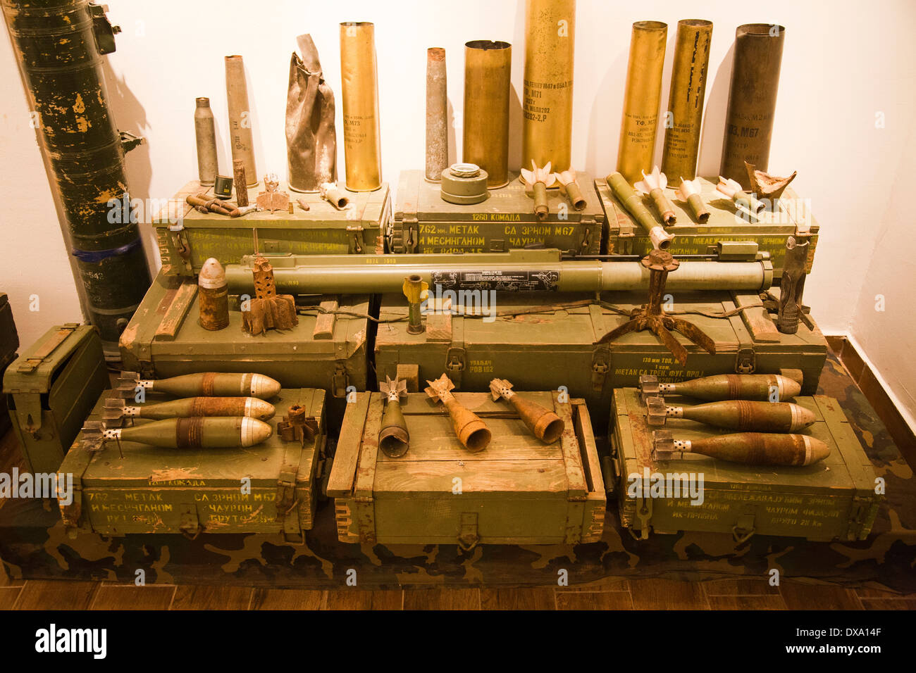 bombs, the tunnel, sarajevo, bosnia and herzegovina, europe - Stock Image