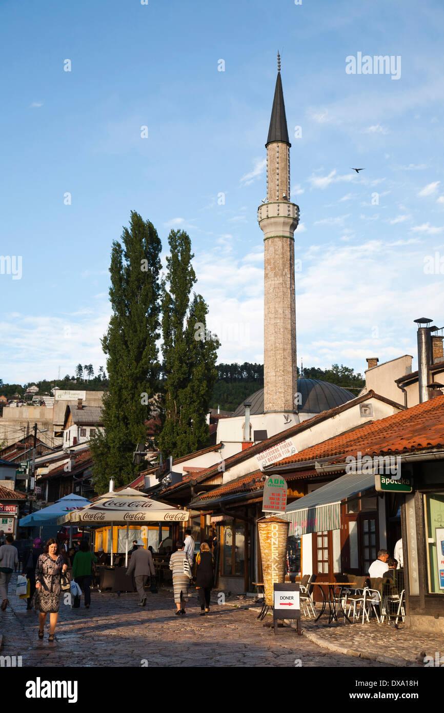 bascarsija, sarajevo, bosnia and herzegovina, europe - Stock Image