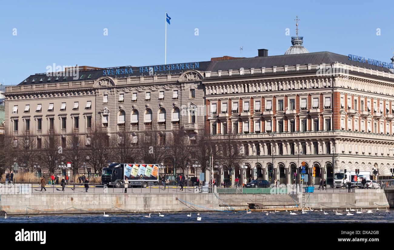 Stockholm, Sweden - Svenska Handelsbanken building - Stock Image