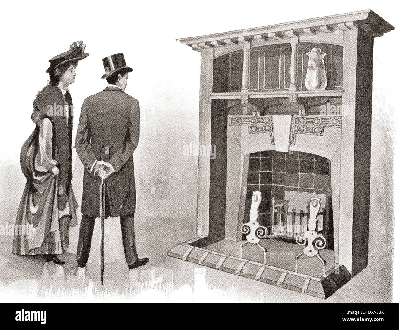 An Early 20th Century Fireplace For The English Home