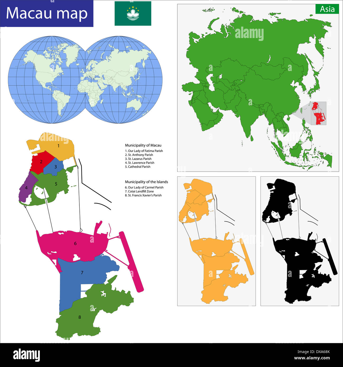 Macao map Stock Photo: 67836627 - Alamy on map of sao tome principe, map of hong kong, map of cantonese, map of nanjing university, map of mongolia, map of french equatorial africa, map china, map of bissau, map of hankou, map of scotland, map of sulaymaniyah, map of no. africa, map of ormuz, map of brunei, map of asia, map of cotai, map of malawi, map of democratic kampuchea, map of jinzhou, map of united arab of emirates,