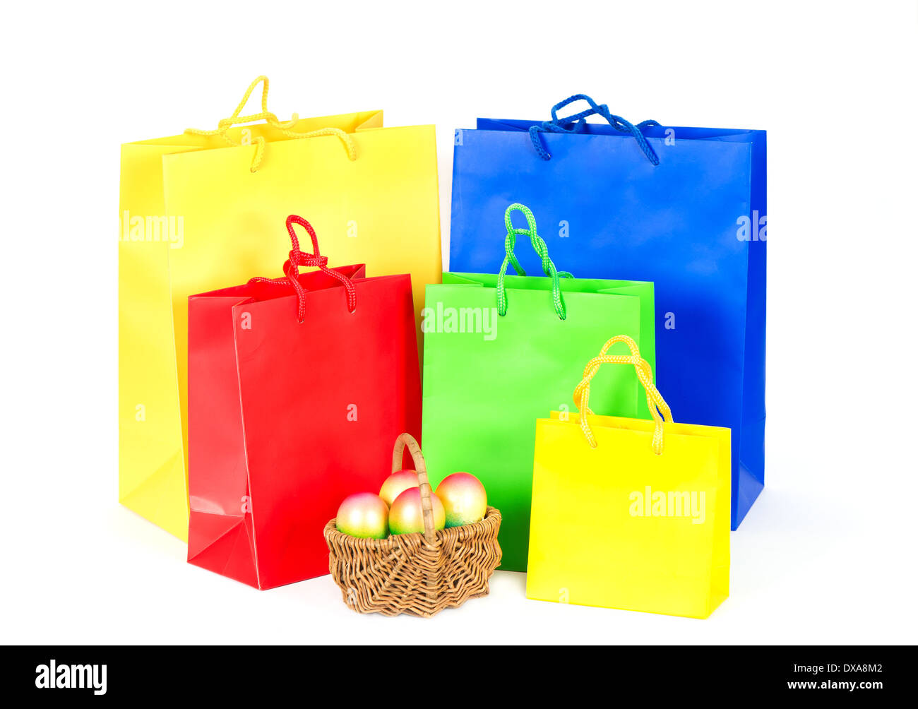 Sale easter bags stock photos sale easter bags stock images alamy colorful bags easter shopping stock image negle Image collections