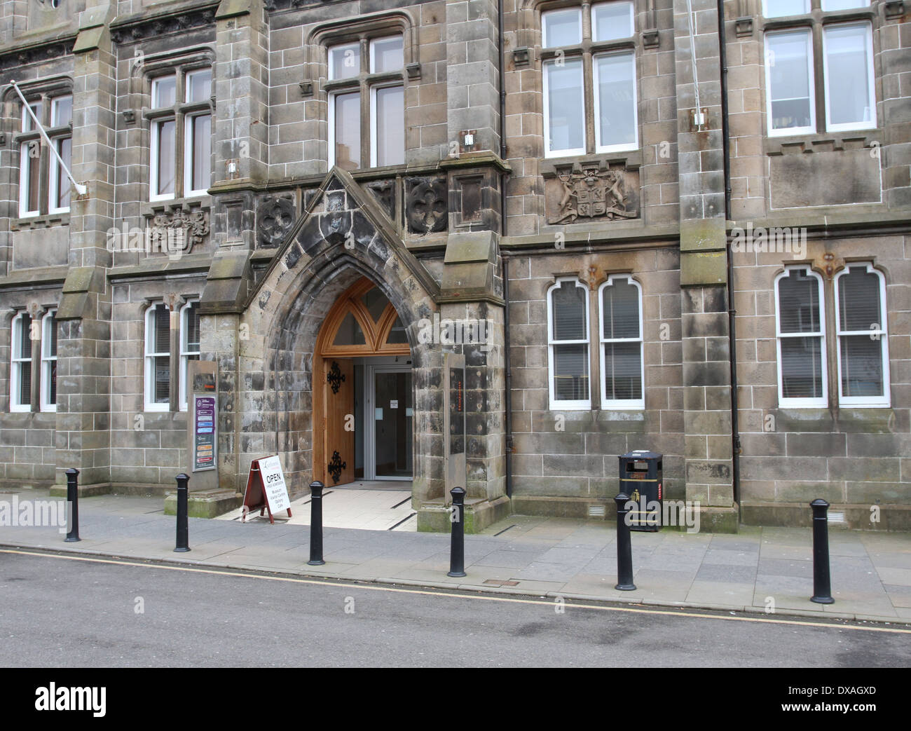 Exterior of Caithness Horizons and Tourist Information Thurso Scotland  March 2014 - Stock Image