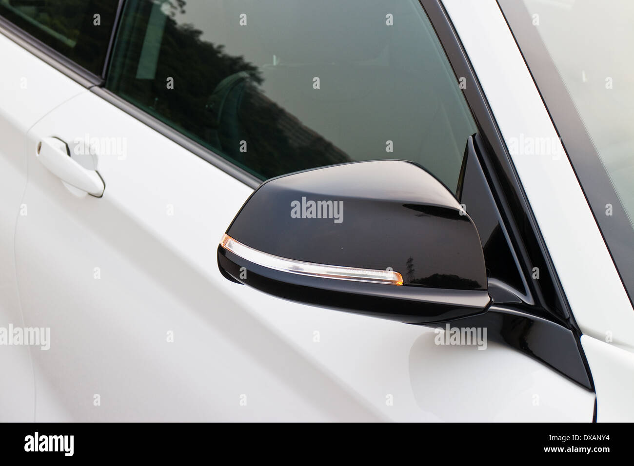 BMW 220i 2014 Sedan, all new series, small sedan. - Stock Image