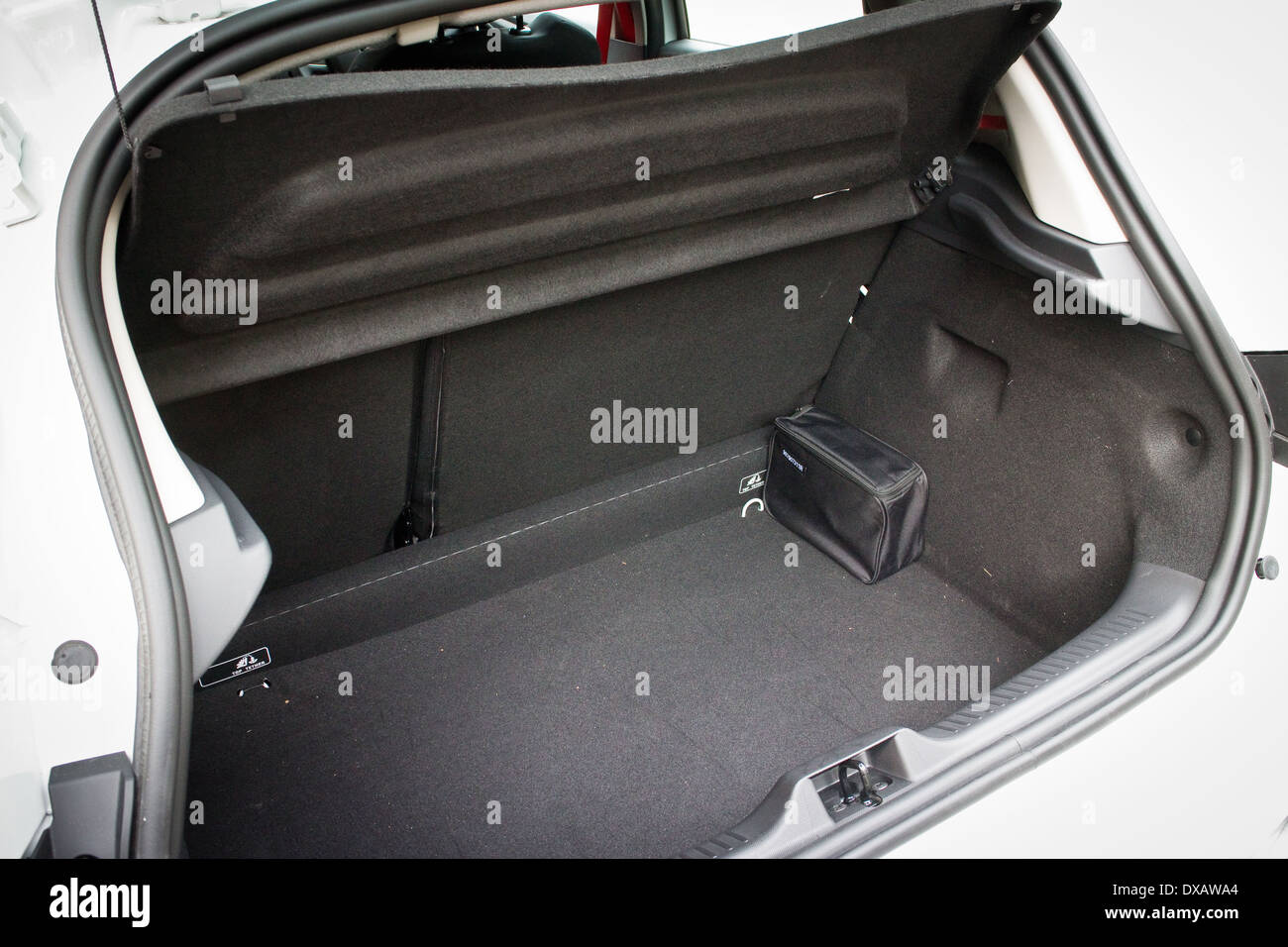 Renault Clio RS Trunk - Stock Image