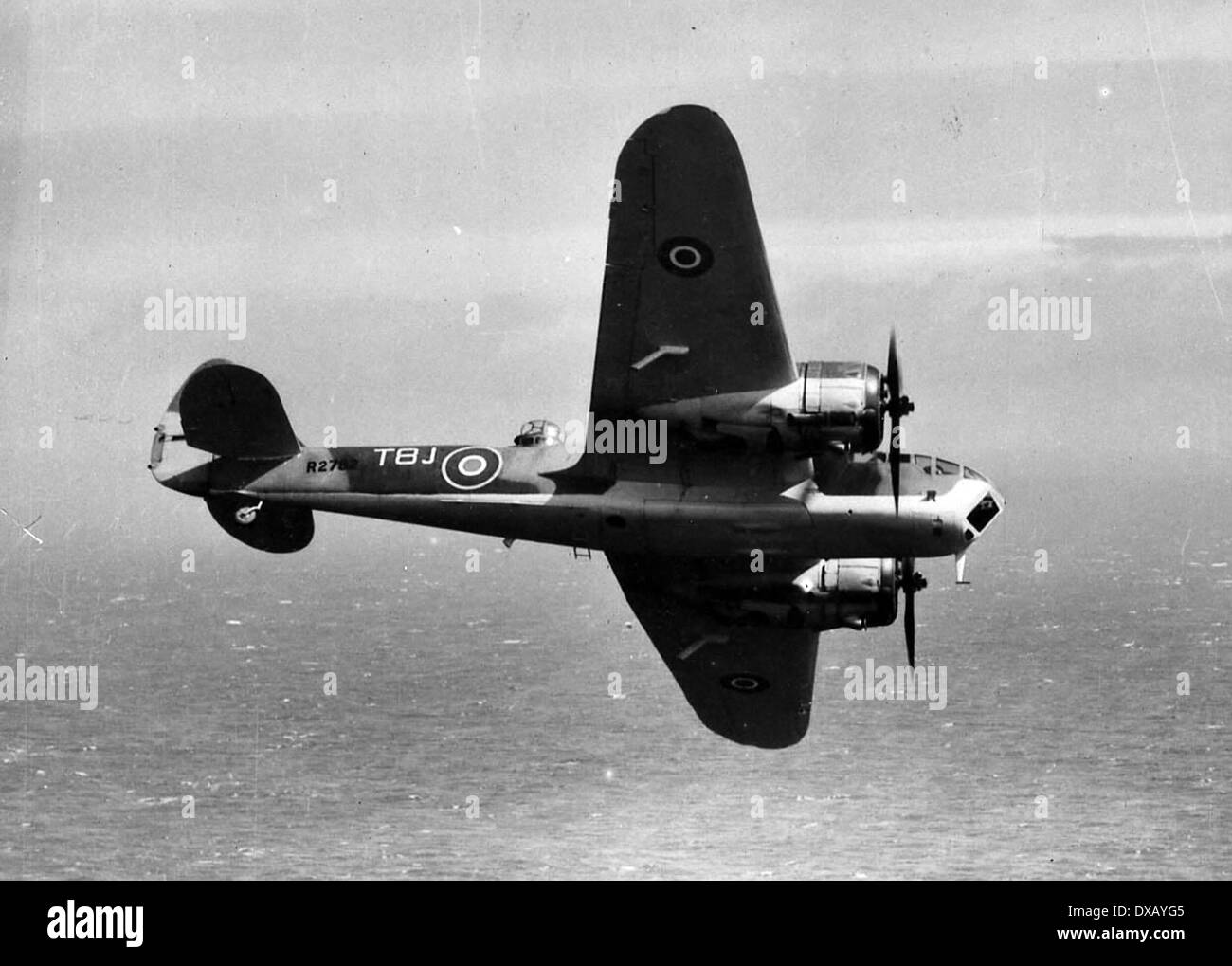 Blenheim fighter bomber ww2 - Stock Image