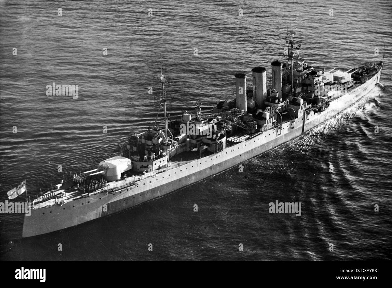 Royal Navy world war two. - Stock Image