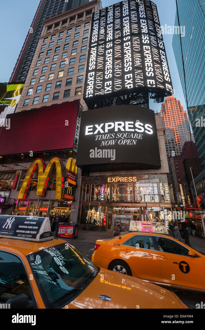 Express clothing store nyc