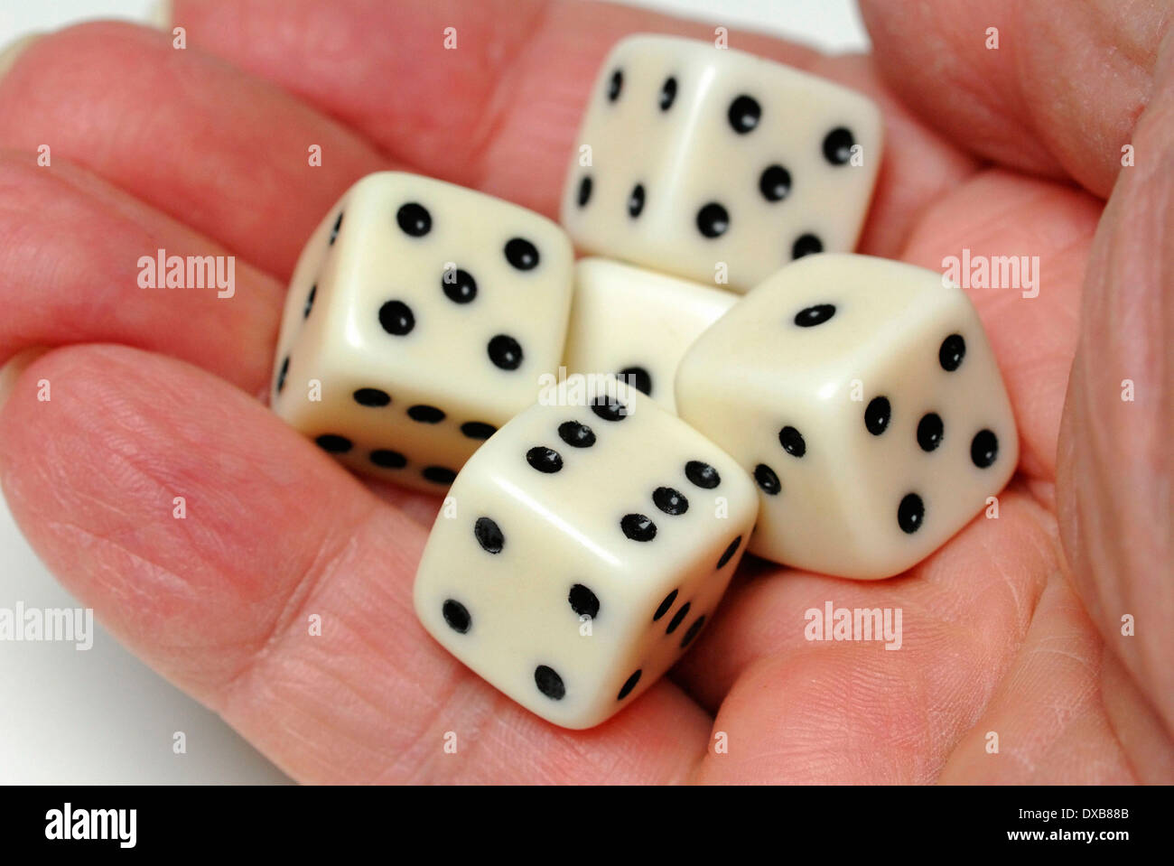 Dice - Stock Image