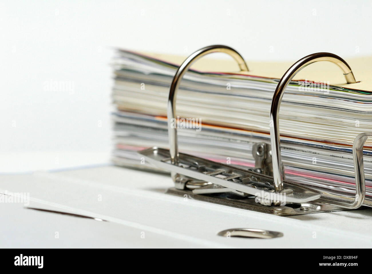 Document file - Stock Image