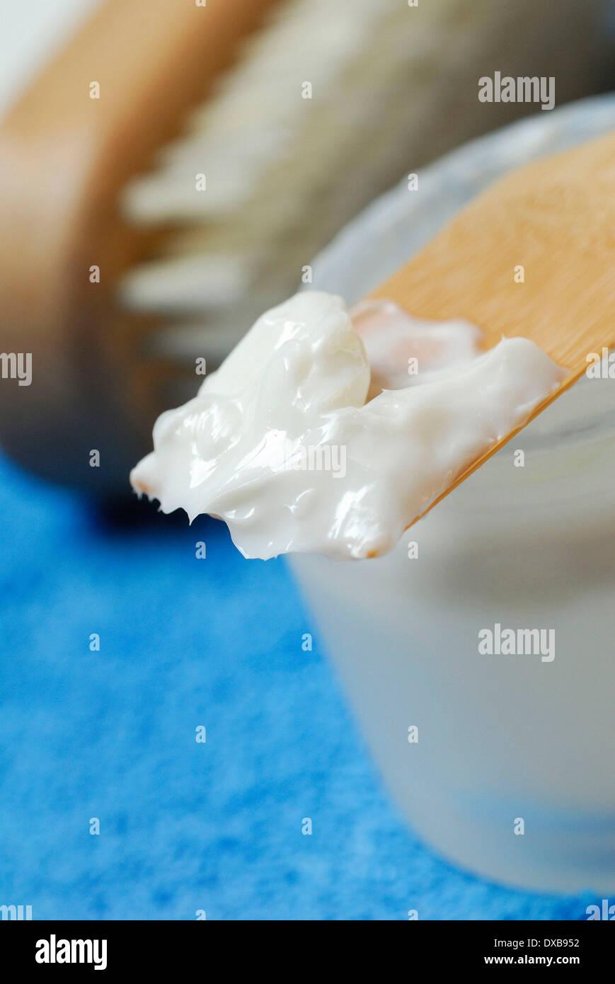 Face cream - Stock Image