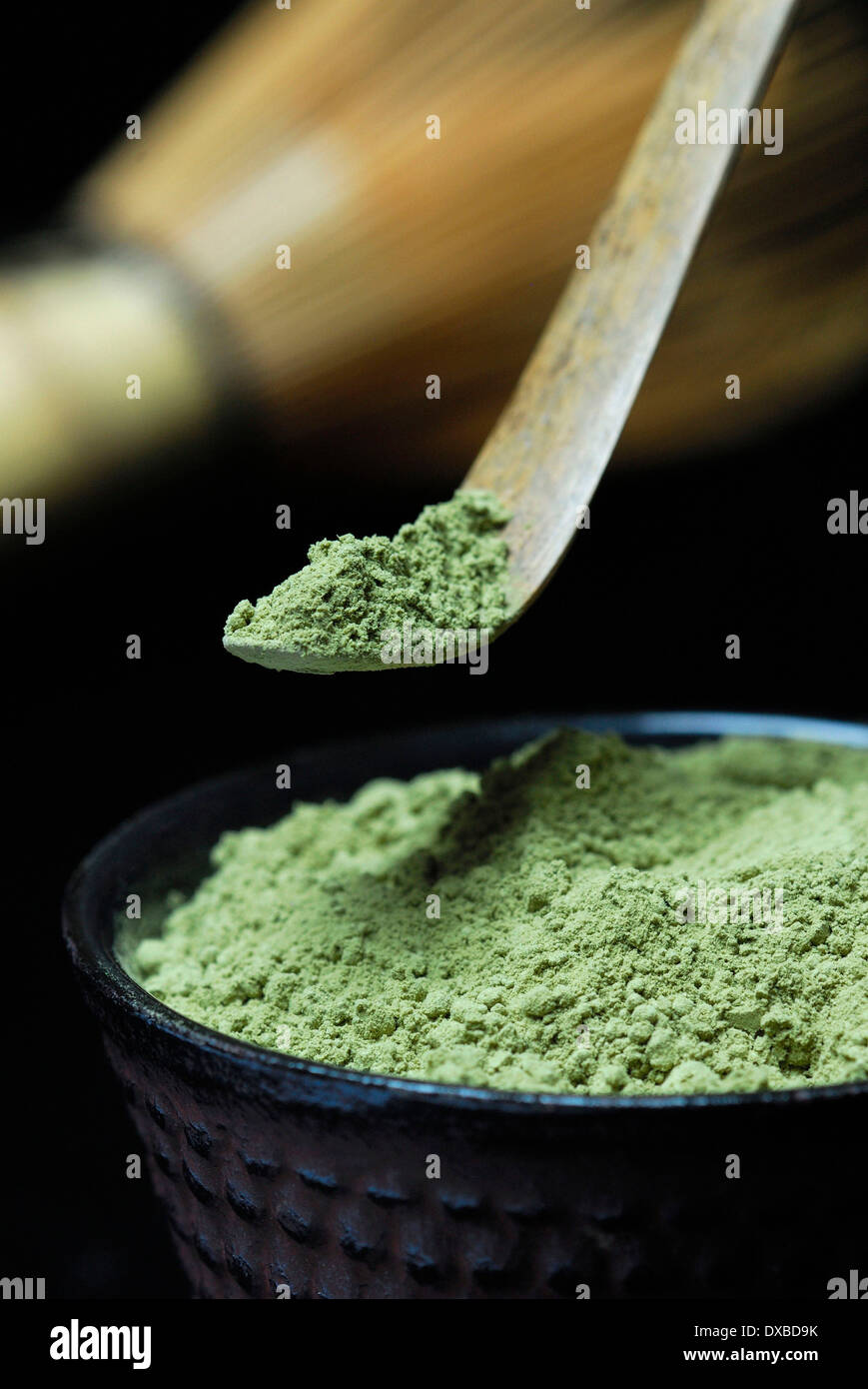 Matcha tea - Stock Image