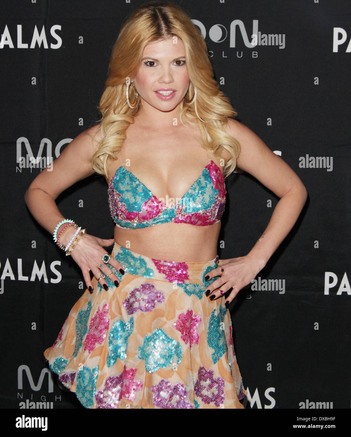 Las Vegas, Nevada, USA. 23rd Mar, 2014. Chanel West Coast performs from her new mixtape ''Now You Know'' inside Moon Nightclub on March 22, 2014 at the Palms Casino Resort in Las Vegas, Nevada. Credit:  Marcel Thomas/ZUMAPRESS.com/Alamy Live News - Stock Image