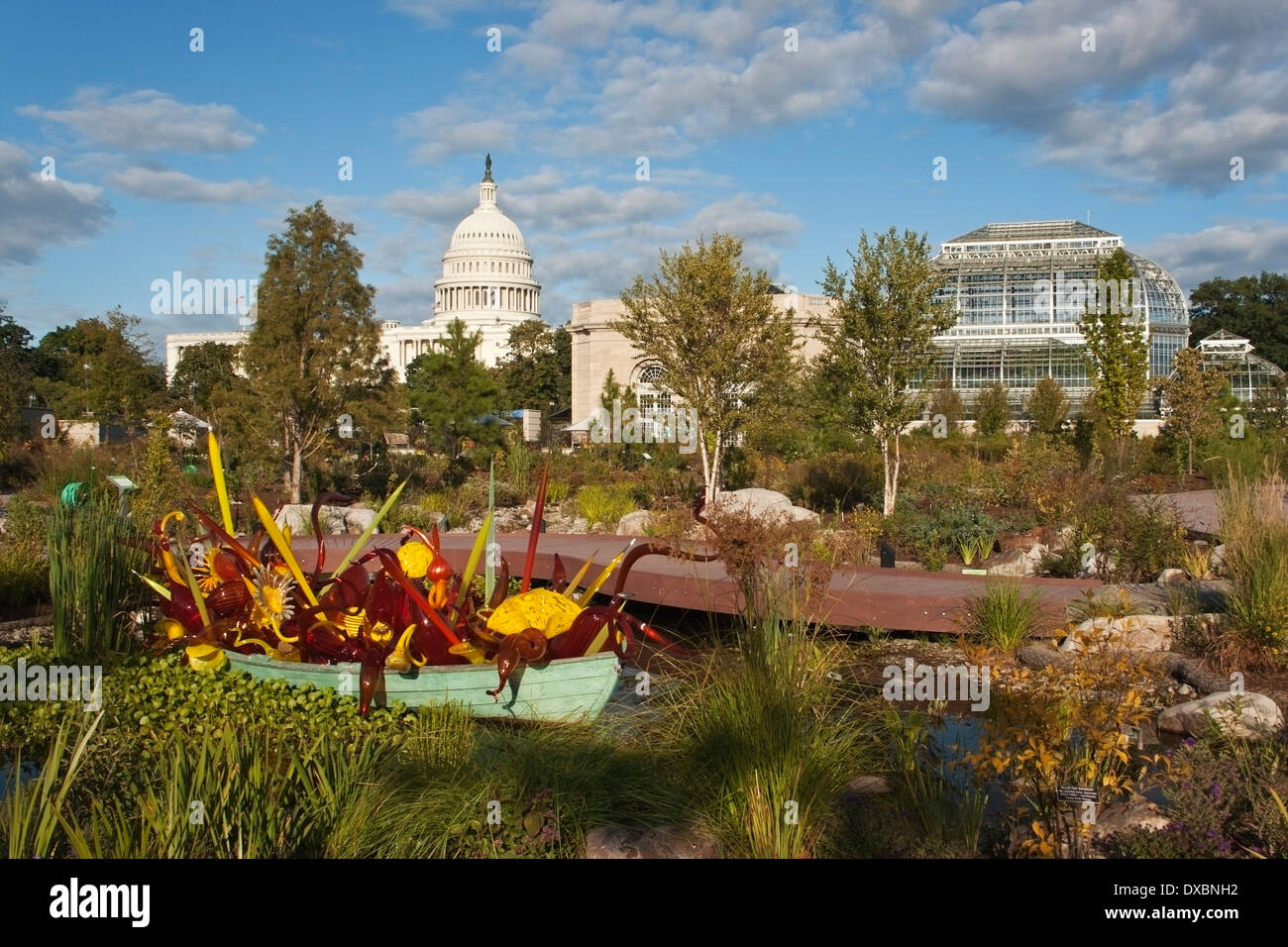 Washington Dc Botanic Garden Stock Photos & Washington Dc Botanic ...