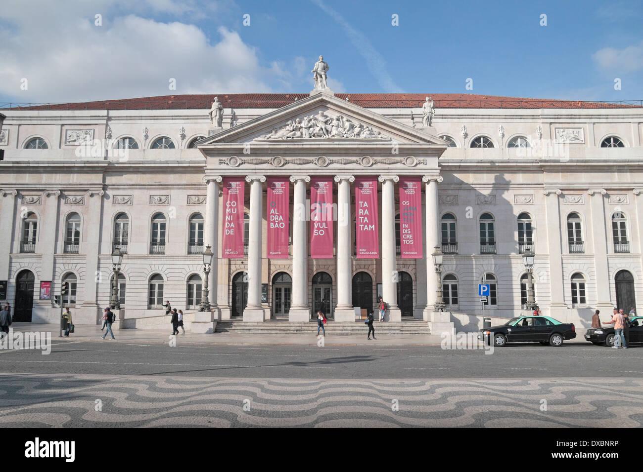 0ad0d60b9ace00 The Teatro Nacional D.Maria II (National Theatre D.Maria II)