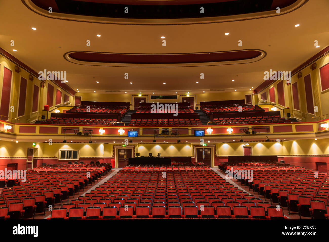 Interior Hull New Theatre Kingston Upon Hull Humberside East Stock