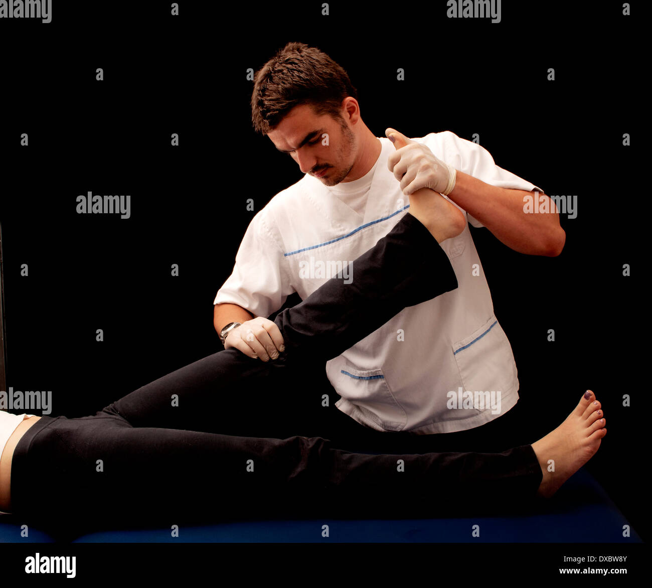 Physical therapy - Stock Image