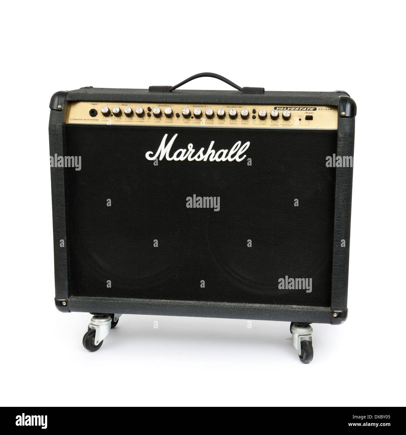 Marshall Valvestate VS102R electric guitar amplifier from 1999 - Stock Image