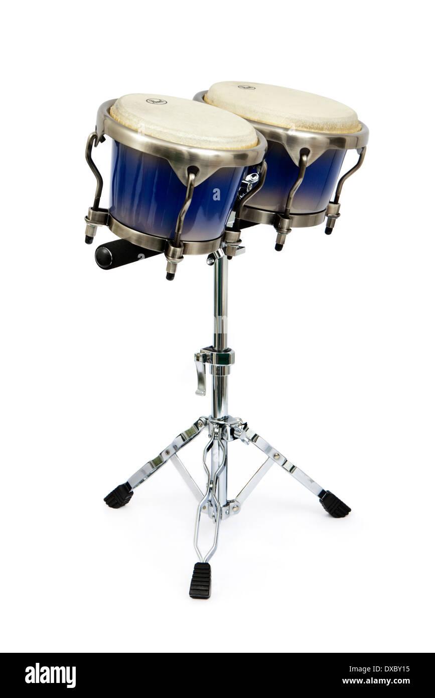 Pearl 'Primero Pro' professional bongos - Stock Image