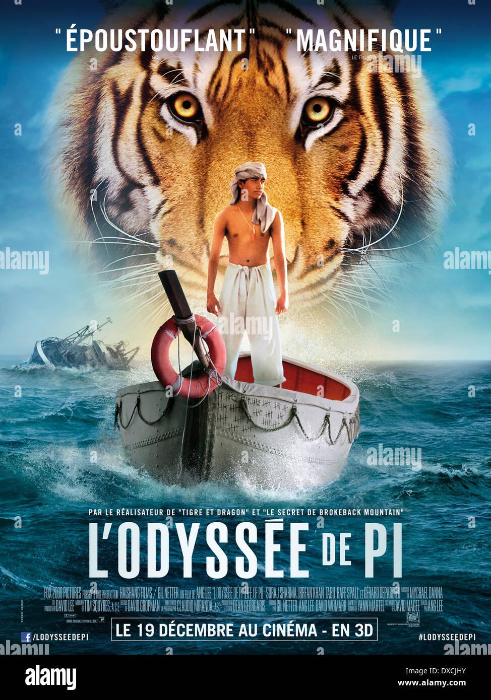Life Of Pi Stock Photo Alamy