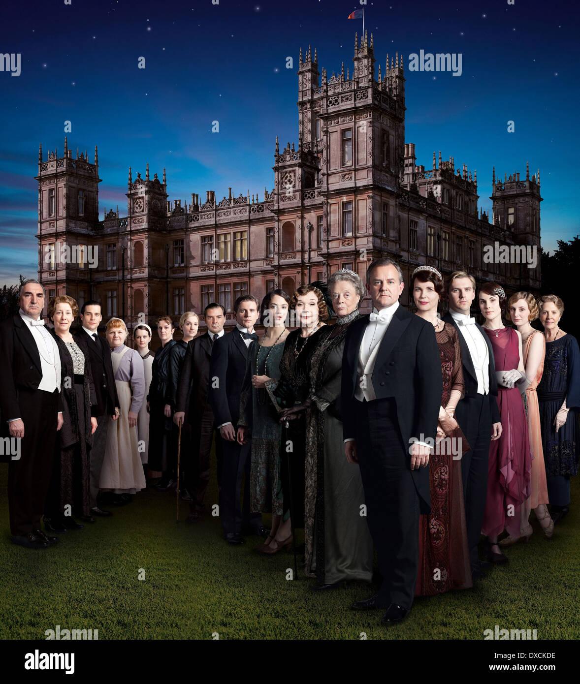 Downton Abbey (Season 3) - Stock Image