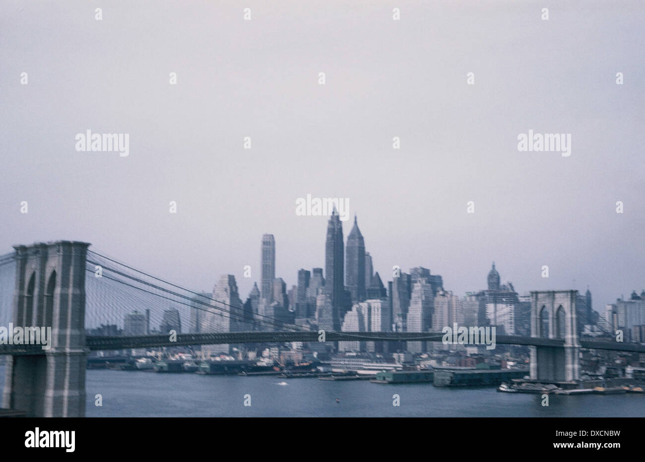 New York 1950s Color Stock Photos New York 1950s Color Stock Images Alamy