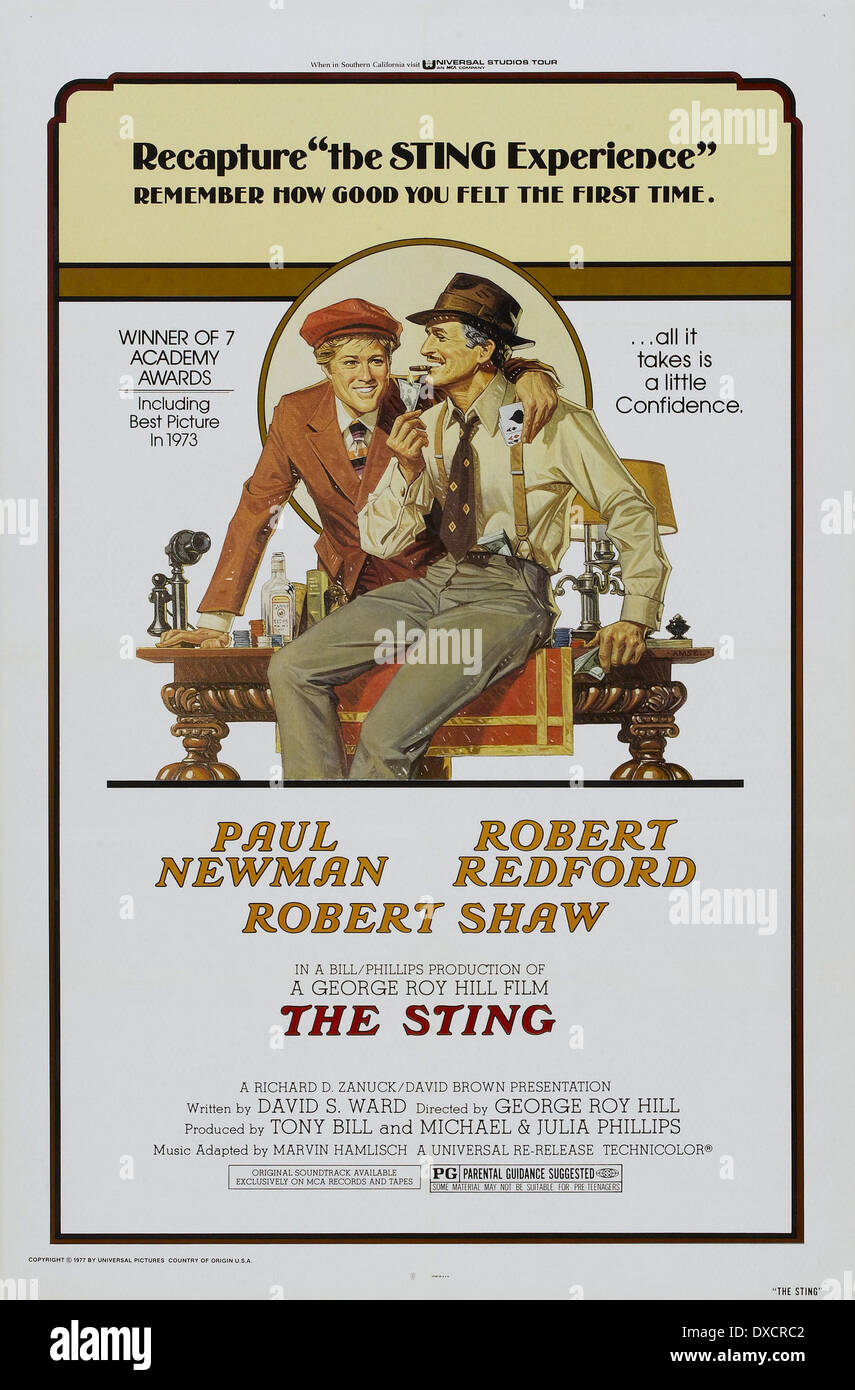 The Sting - Stock Image