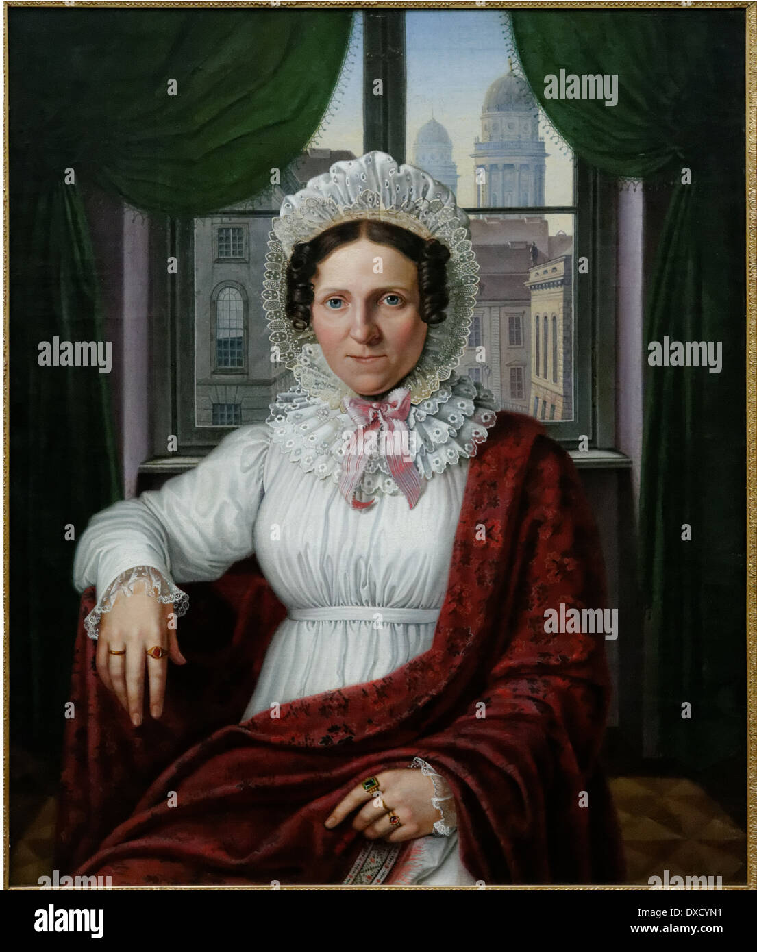 Joham Erdmann Hummel - Frau Luise Mila - XIX th century - German school - Alte Nationalgalerie - Berlin - Stock Image