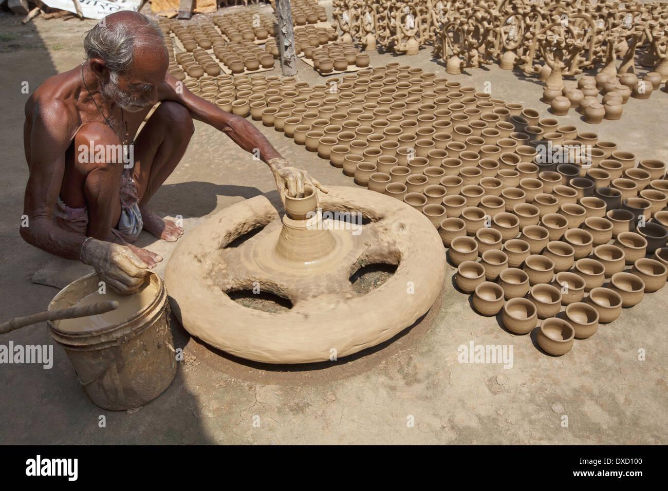 Clay Pottery India Stock Photos Amp Clay Pottery India Stock