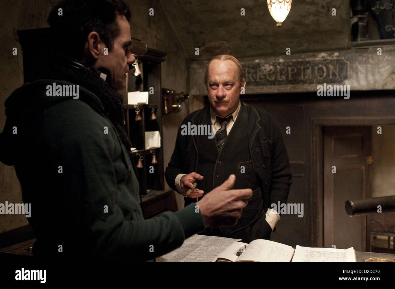 Tom Tykwer, Tom Hanks - Stock Image