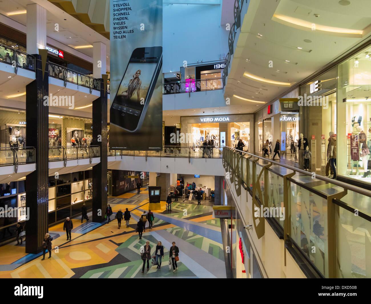 The Alexa Mall, Berlin, Germany, Europe - Stock Image