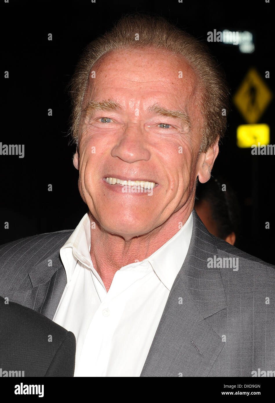 ARNOLD SCHWARZENEGGER American film actor in March 2014