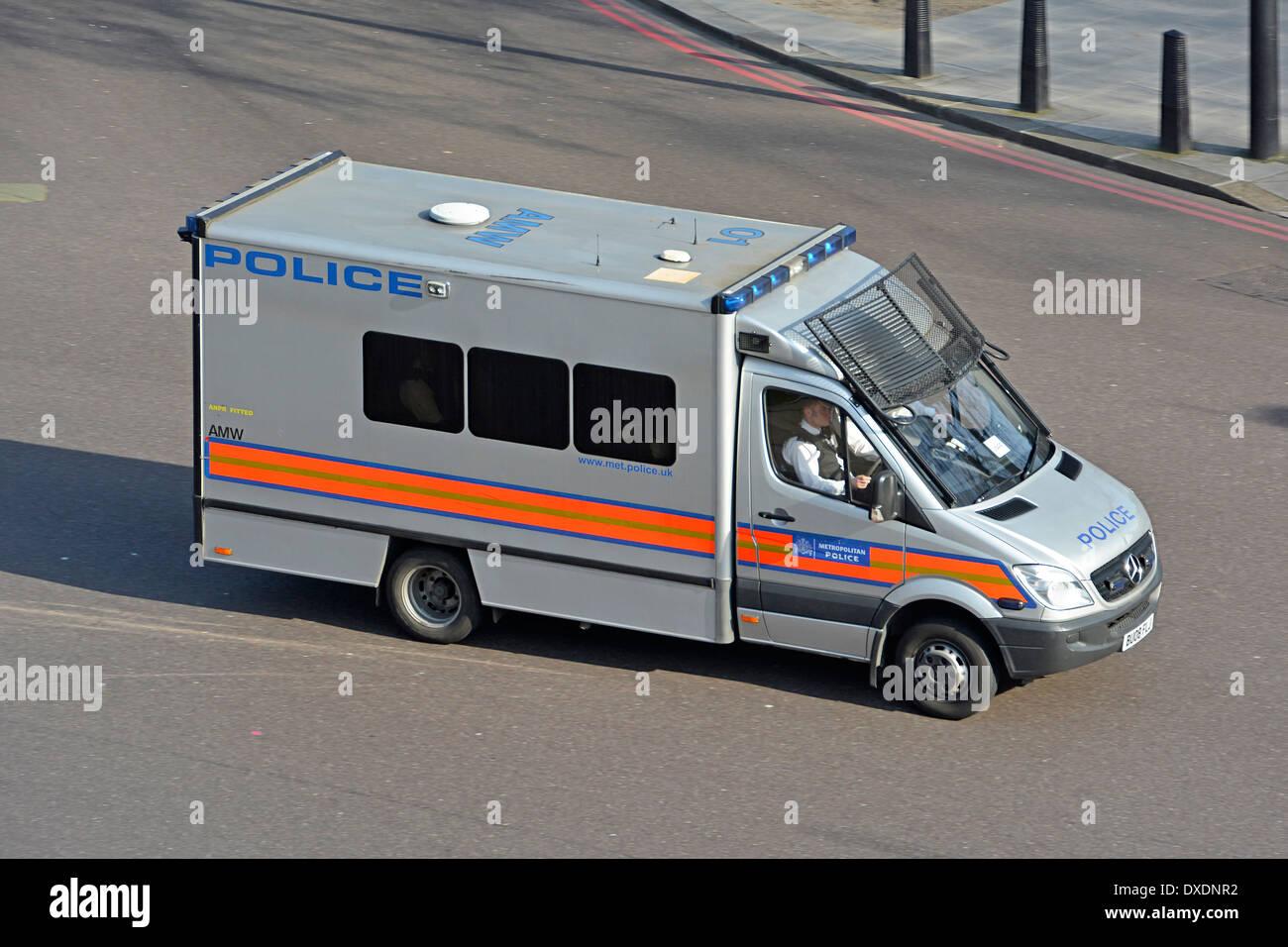 Police Van Stock Photos & Police Van Stock Images - Alamy