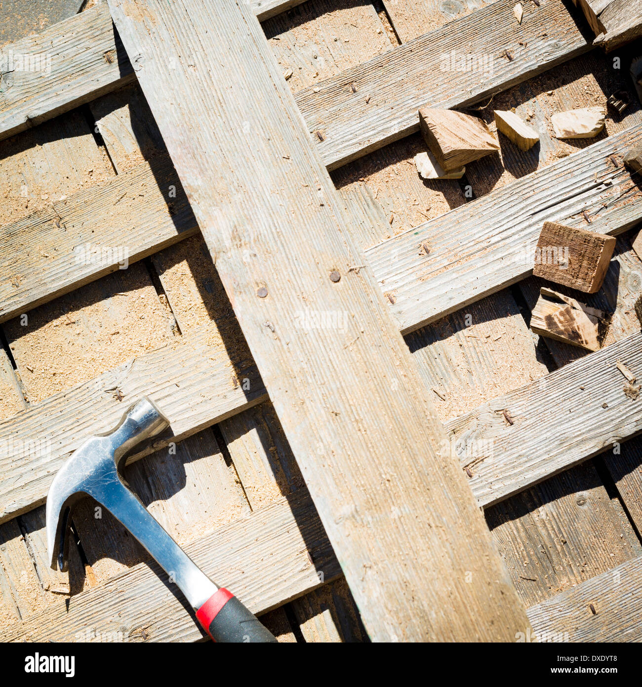 Old Wooden Workbench Tools Stock Photos & Old Wooden Workbench Tools ...