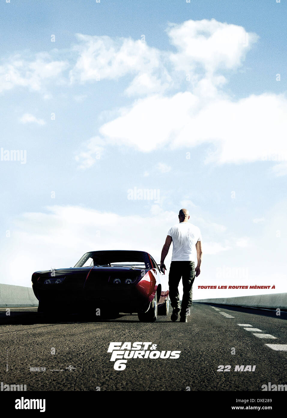 Fast & Furious 6 Stock Photo