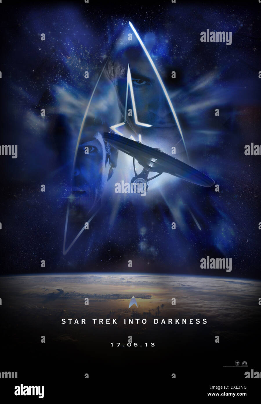 Star Trek Into Darkness - Stock Image