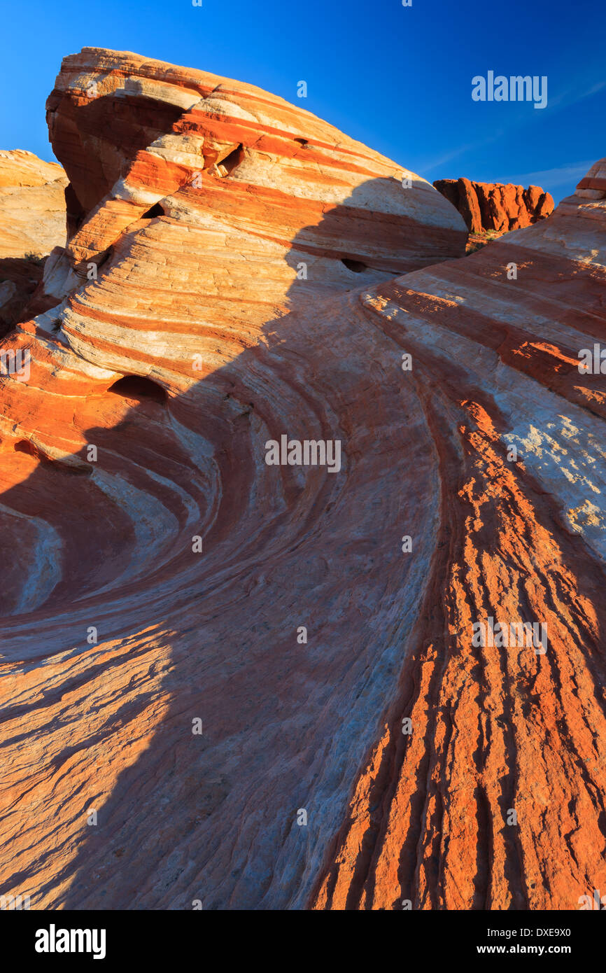 Valley Of Fire State Park, Nevada, USA - Stock Image