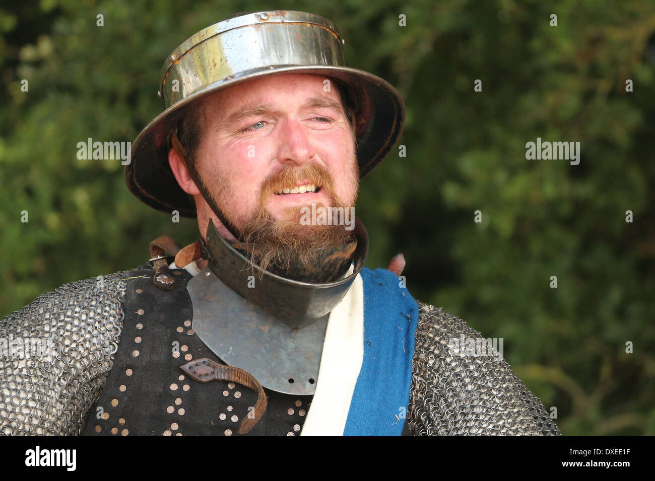Battle Weary - Stock Image