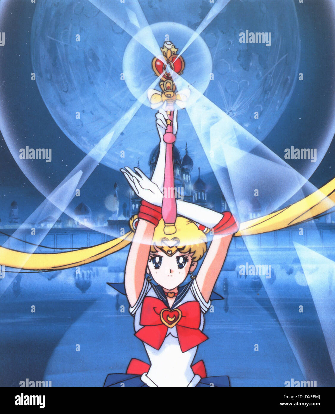 Sailor Moon R The Movie: The Promise Of The Rose Stock