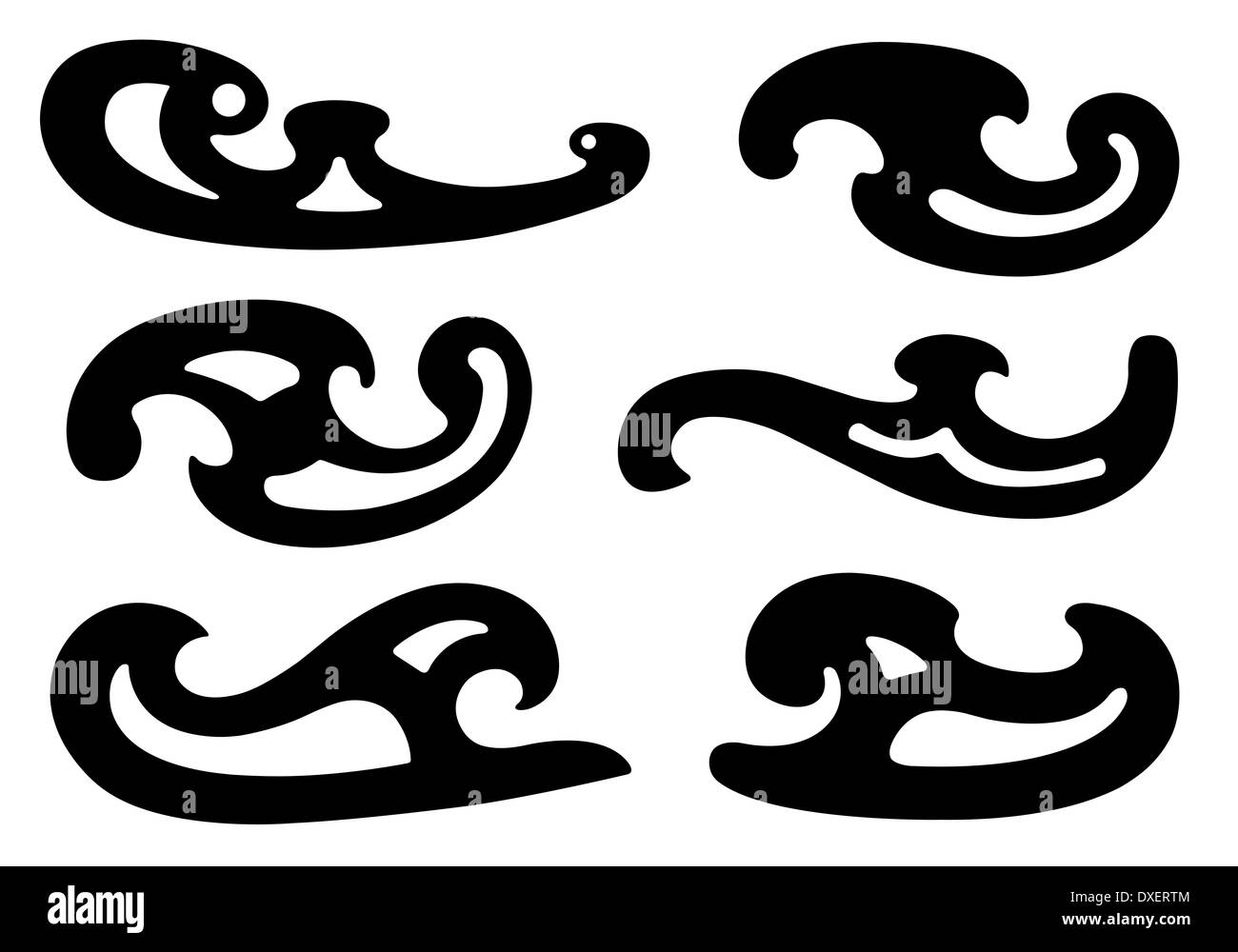 french curve black and white stock photos images alamy 18th Century French Art set of different french curves isolated stock image